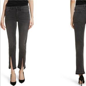 woodland Frame le high straight slim jean new s stretch denim 25 grey